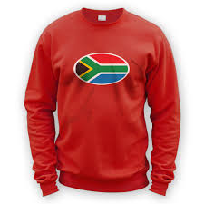 What Colour Is The South African Flag South African Flag Sweater X8 Colours Football Rugby Cricket