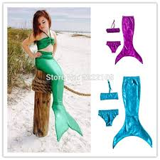 Mermaid Halloween Costumes Kids Compare Prices Mermaid Clothes Children Tail Shopping