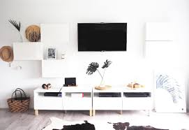 ikea tv unit 16 diy ikea tv stands and units with hacks shelterness