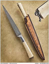 kitchen knives made in usa kevin klein made knife usa handmade knives