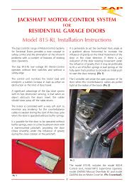 Garage Door Counterbalance Systems by Super Drive Garage Door Motor Wageuzi