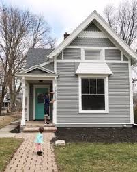 siding painted in sherwin williams anonymous sw 7036 trim in