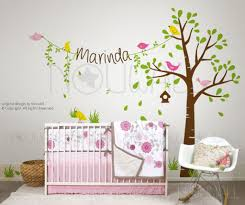 Wall Decals For Girl Nursery by Modern Kids Wall Decor Best Decoration Baby Girls Nursery Tree