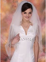 wedding veils for sale pearl trim edge our best wedding veils on sale now at jj s house
