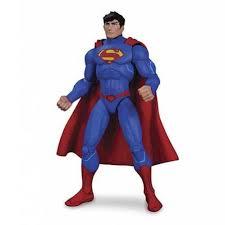 dc animated justice league war figure superman