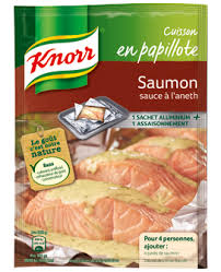 cuisine papillote saumon sauce à l aneth
