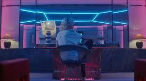 neon chambre neon room hotel atomic charlize thenon chambre d