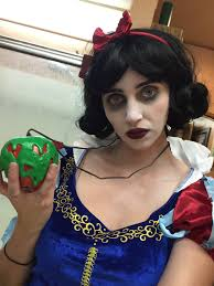 white contacts halloween baroness von chickenstein