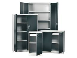 Storage Cabinets Metal Metal Storage Cabinets With Doors And Shelves 19 With Metal