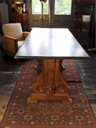 gothic revival pitch pine refectory dining table antiques atlas