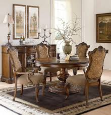 pemberleigh round to oval table dining room set by legacy classic