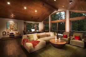 rustic wood ceiling fans painting wood floors living room rustic with ceiling fan green rug