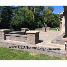 Raised Patio Pavers by Glc Lawn Landscaping U0026 Snow Removal Llc Online