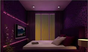 Bedroom Purple Wallpaper - 15 ravishing purple bedroom designs home design lover
