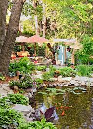 How To Build A Fish Pond In Your Backyard How To Make Your Backyard A Vacation Oasis Midwest Living