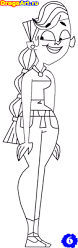 total drama island colouring pages free coloring pages on masivy