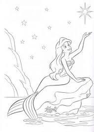 beautiful mermaid coloring pages riscos para colorir da pequena sereia mermaid coloring books
