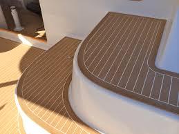 pvc boat plastic wood floor boat floor covering synthetic