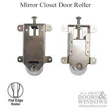 Closet Door Rollers Externally Mounted Bottom Roller Closet Door Rollers