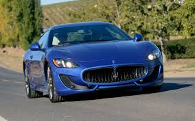 maserati granturismo 2012 2013 maserati granturismo sport first test motor trend