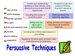 persuasive techniques lessons and activities by steffih