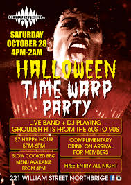Thriller Halloween Lights by Halloween Time Warp Party Free Entry All Night Perth