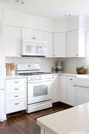 gray kitchen cabinets white appliances black and white appliances the lbd for