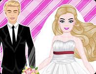 barbie wedding doll house games