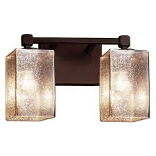 mercury glass bathroom light fixtures for classic look