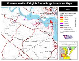 White Castle Locations Map Hurricane Storm Surge Maps Virginia Department Of Emergency