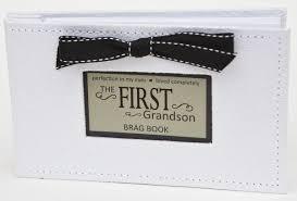 brag book grandson gift for grandparents