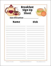 100 sign up sheet for potluck template 9 potluck template