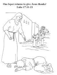 Jesus Heals The Blind Man Preschool Craft Craft Ten Lepers Google Search Jesus Heals Ten Lepers