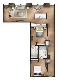 Luxury Apartment Floor Plan by The Tower Luxury Apartments Apartment In Tuscaloosa Al