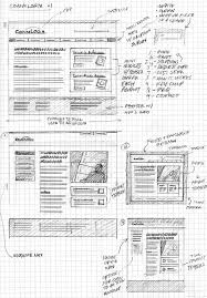 20 examples of web and mobile wireframe sketches wireframe ui
