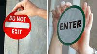 glass door signs glass door signs u0026 labels