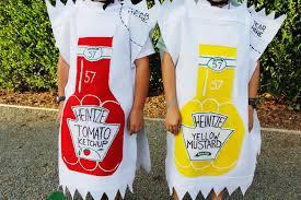 mayonnaise halloween costume fancy made