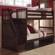 Kids Simple Bunk Beds Universal Kids Smartstuff Myroom Twin Metal Loft Bunk Bed With 3