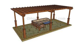 How To Build A Pergola On An Existing Deck by 51 Diy Pergola Plans U0026 Ideas You Can Build In Your Garden Free