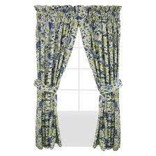 Waverly Curtains And Drapes Waverly Imperial Dress Porcelain Curtain Panel Pair Porcelain
