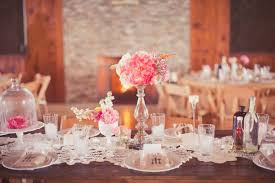 Country Shabby Chic Wedding by Pink Shabby Chic Country Wedding Tablescape Elizabeth Anne