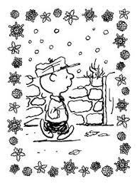 charlie brown christmas coloring pages holiday coloring pages