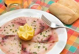 cuisine espadon carpaccio d espadon recettes de cuisine italienne