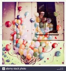 street art balloons on wall mural color colour colours fantasy stock photo street art balloons on wall mural color colour colours fantasy happy town
