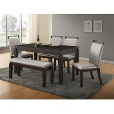 Bench Kitchen  Dining Room Sets Youll Love Wayfair - Dining room tables with a bench