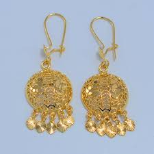 arabian earrings 31 amazing gold earrings for women 22k playzoa