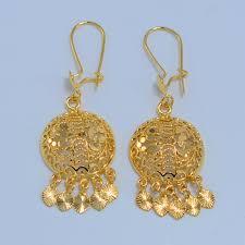 arabian earrings 31 amazing gold earrings for women 22k playzoa