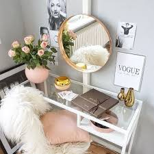 Small Vanity Table Ikea Best 25 Ikea Makeup Vanity Ideas On Pinterest Vanity Vanity