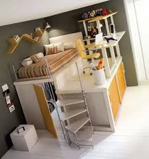 fabulous ladder of bunk bed at room design for teenager combined