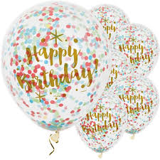 birthday balloons for men happy birthday confetti party balloons fancy me limited
